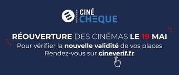 Vérifiez la date de validité de vos Ciné-Chèques